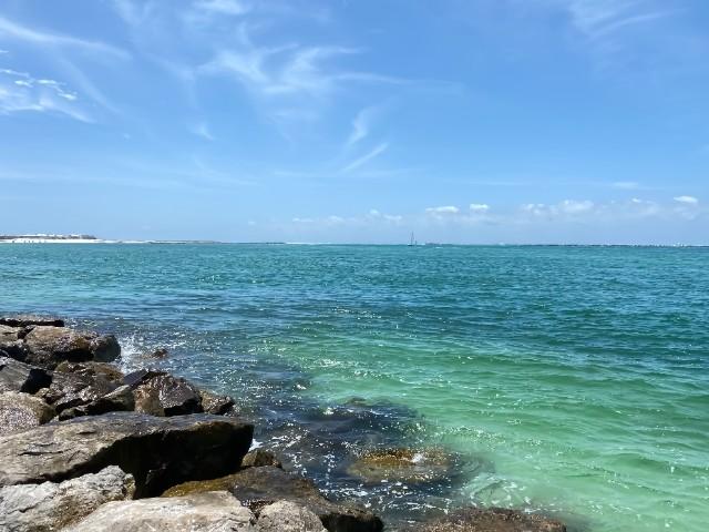 east jetty in Destin Florida